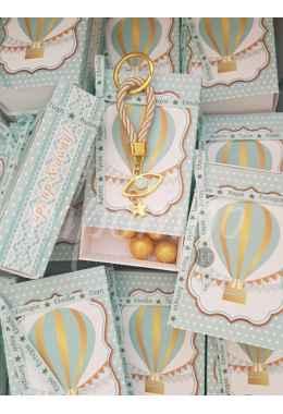 Μπομπονιέρα - Προσκλητήριο Αερόστατο p580